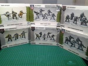 Dust Tactics - Die nächsten Einheiten