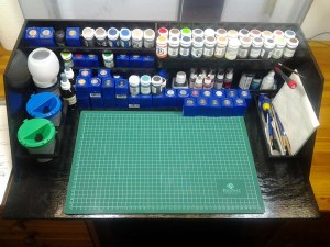 Paint-Station Malstation