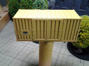 CAV SO - Gelände und Gebäude Container H0