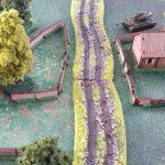TANKS - Gelände im 15mm Maßstab
