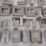 Dust 1947 - Neues Regelbuch, Stadt-Matte und Gebäude